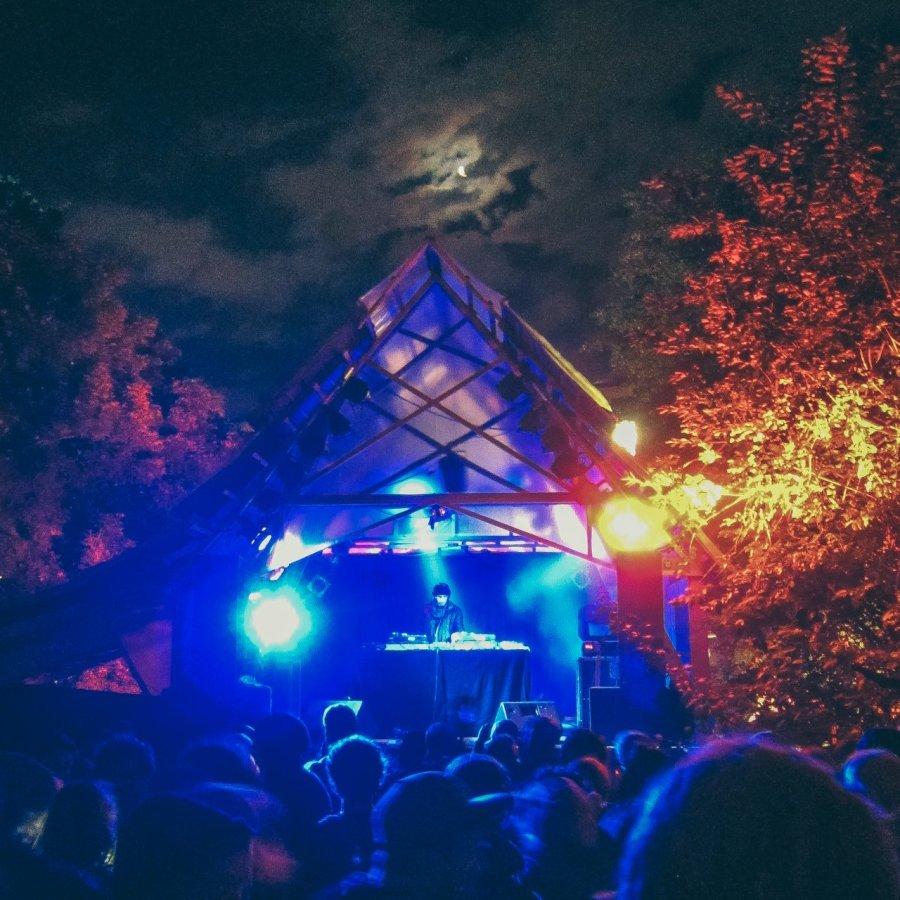 Butterland-Bühne auf dem MS Dockville-Festival 2012