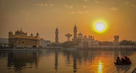 Goldener Tempel Harmandir Sahib in Amritsar
