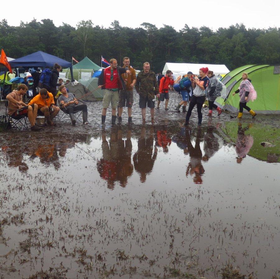 Angler auf dem Hurricane Festival 2016