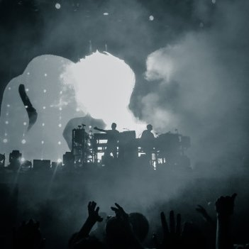 Chemical Brothers live auf dem NOS Alive Festival