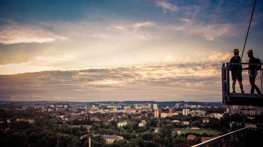 Ostrava von oben