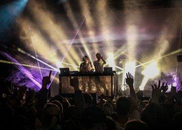 Kiasmos auf dem Colours of Ostrava Festival