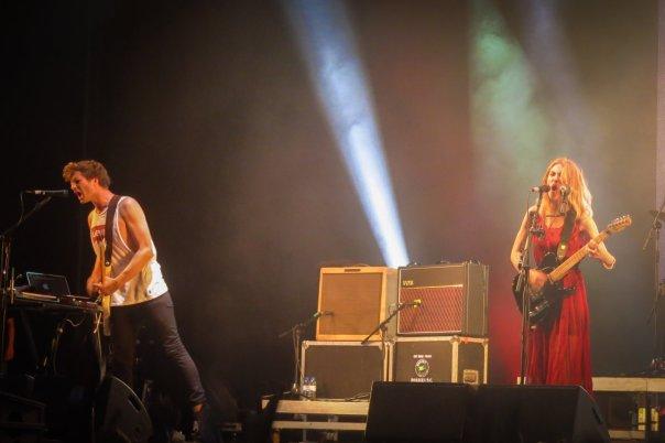 Wolf Alice live auf dem NOS Alive Festival 2016
