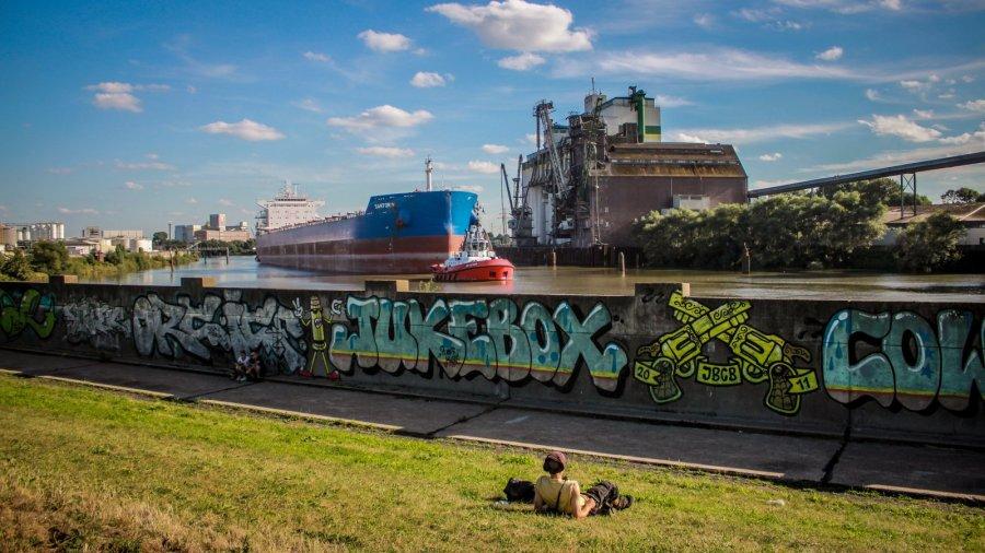 Schiff auf dem MS DOCKVILLE Festival 2016