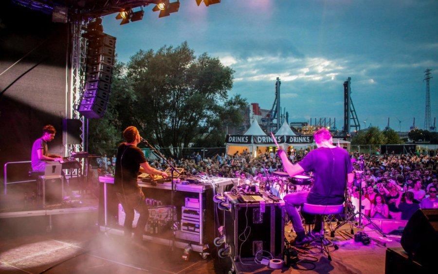 Jan Blomqvist + Band live auf dem Butterland Open Air