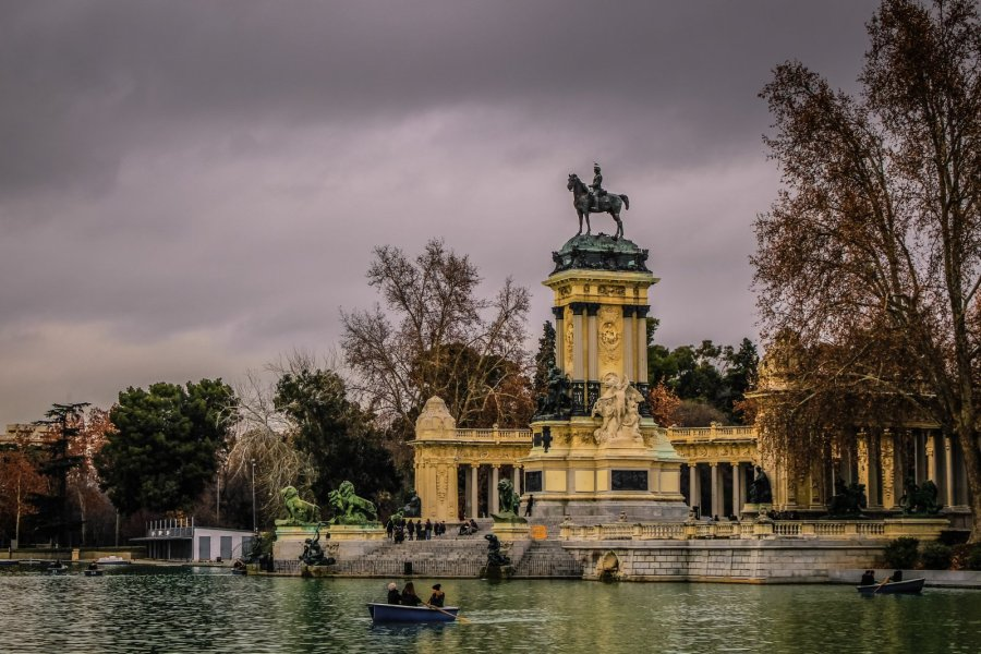 Park El Retiro in Madrid