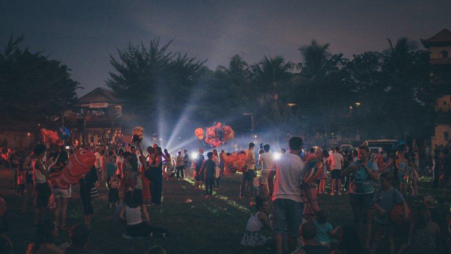 Am Vorabend des Balinesischen Neujahrs