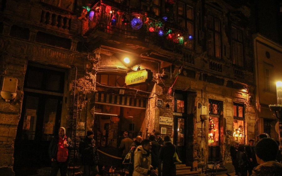 Club Szimpla Kert in Budapest