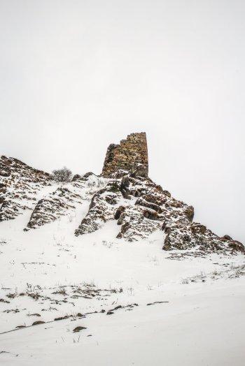 Wachturm in Kazbegi