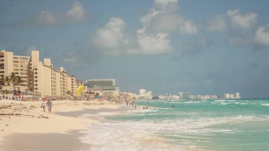 Der Strand von Cancun