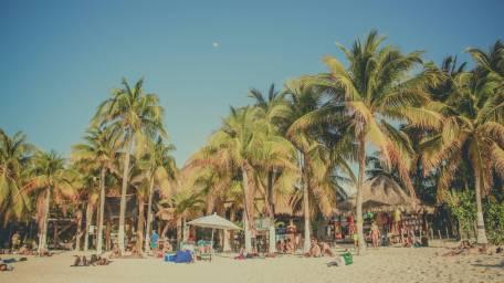 Der Nordstrand von Isla Mujeres