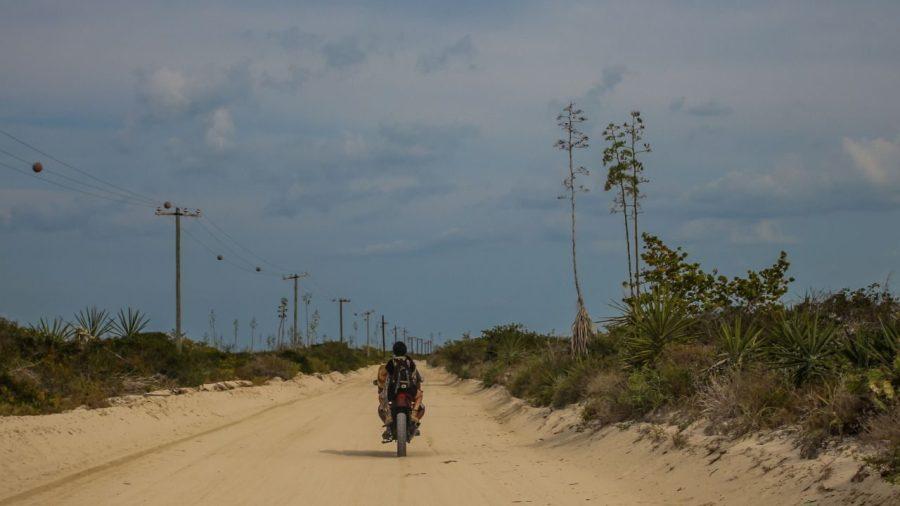 Mit dem Motorrad durch Las Coloradas