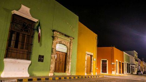 Bunte Häuser in Campeche