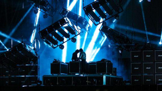 Justice live auf dem Vive Latino Festival
