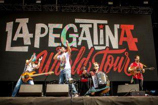 La Pegatina live auf dem Vive Latino Festival