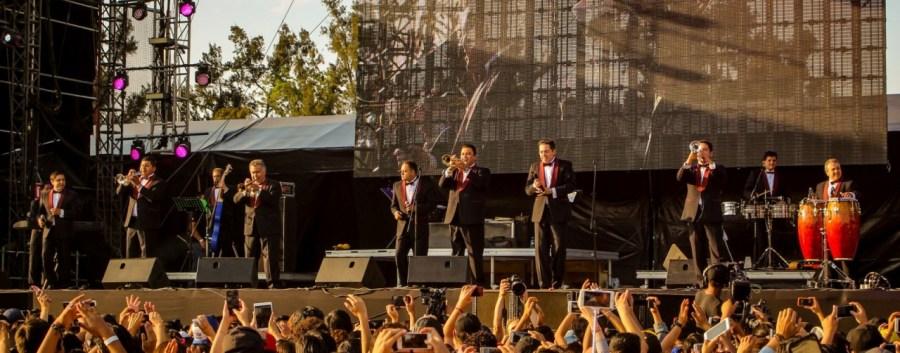 La Sonora Santanera live auf dem Vive Latino Festival