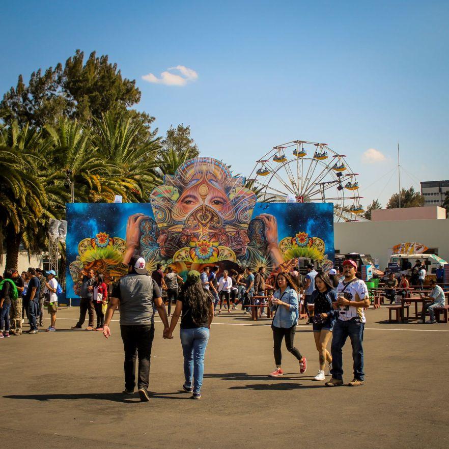 Festivalgelände Vive Latino Festival