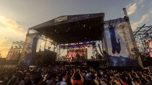 Second Stage vom Vive Latino Festival