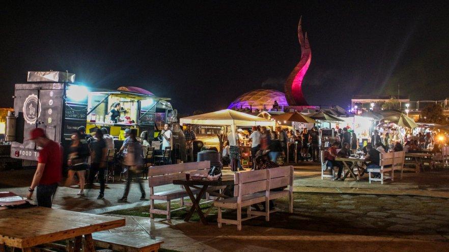 Festivalgelände L4TIDO-Festival in Guanajuato