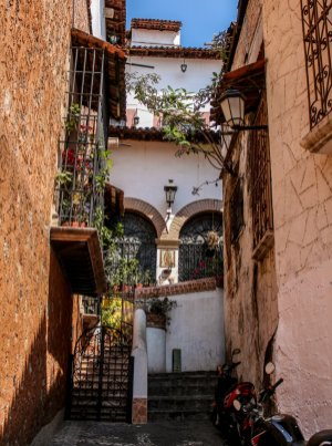 Gasse in Taxco