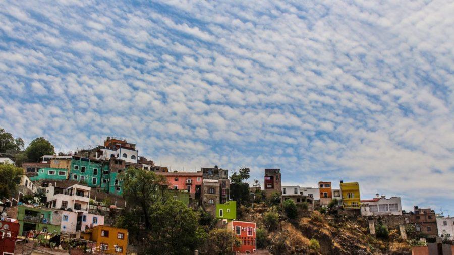 Guanajuato und Himmel