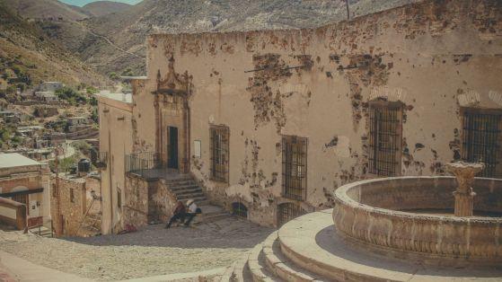 Stadtzentrum von Real de Catorce