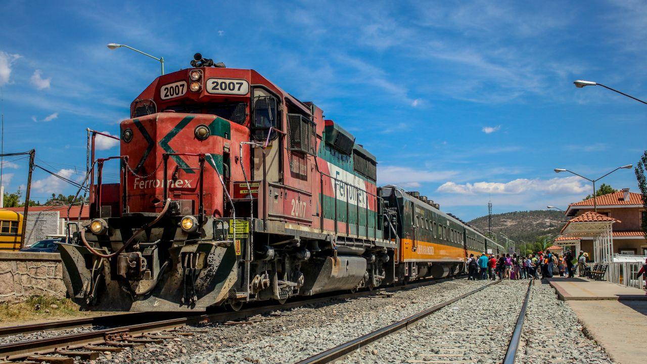 Der El Chepe Zug