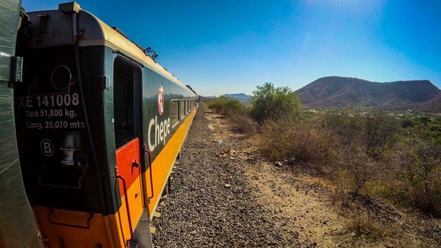 Fahrt mit El Chepe
