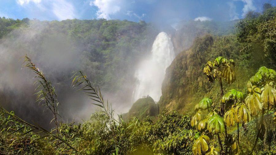 Wasserfall von El Chiflon