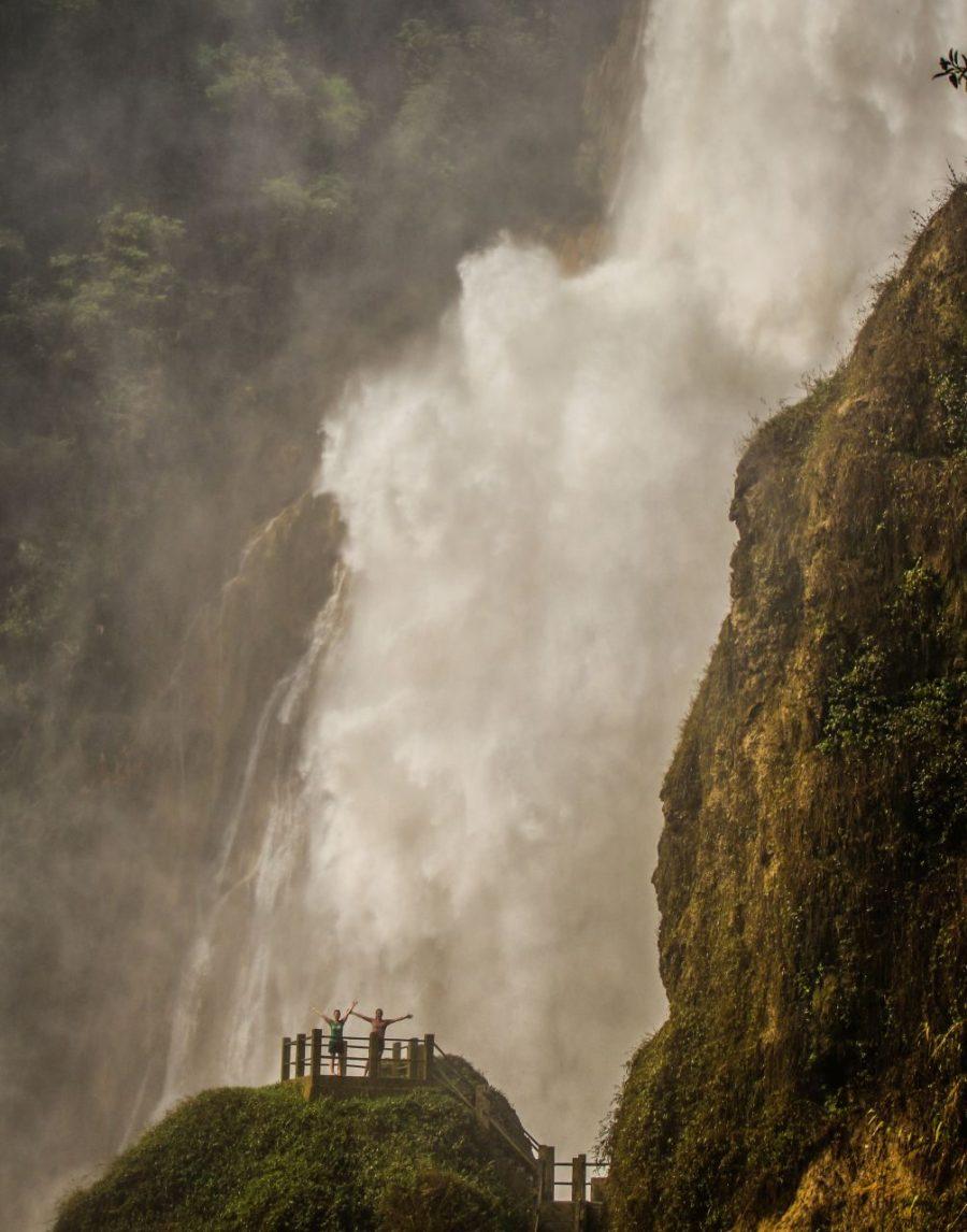 El Chiflon Wasserfall