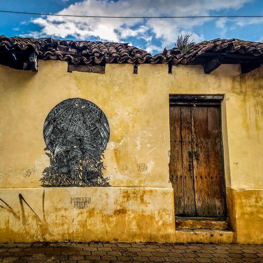 Graffiti in San Cristobal de las Casas