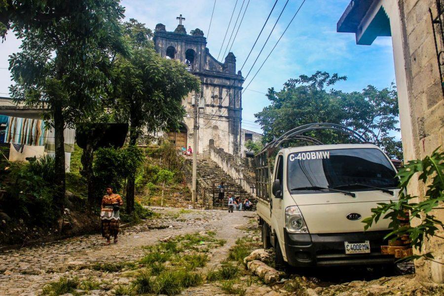 Kirche im Zentrum von Lanquin