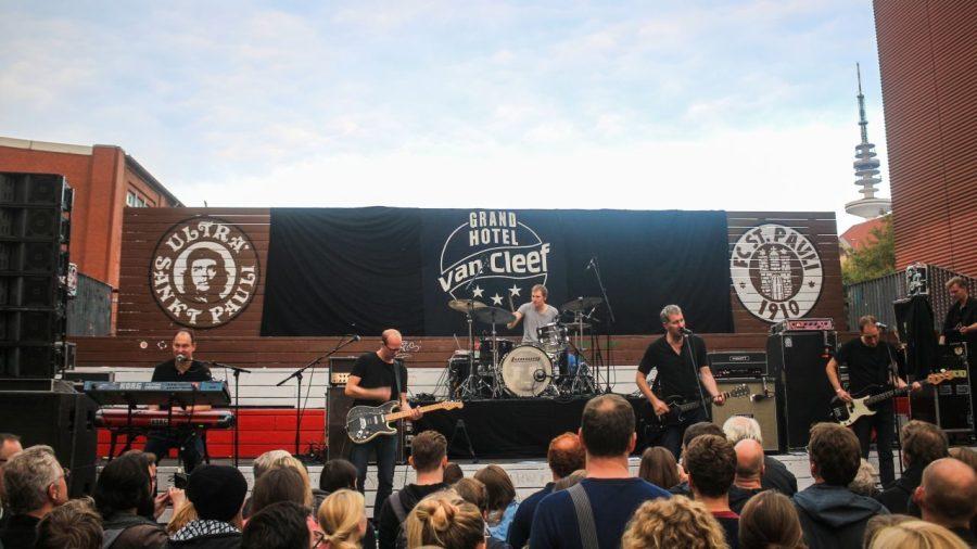 Kettcar live auf dem Reeperbahn Festival