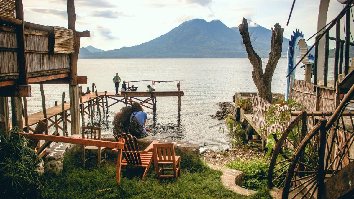 Lago de Atitlan: Ein bisschen Frieden...