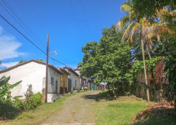 Nebenstraße in Suchitoto