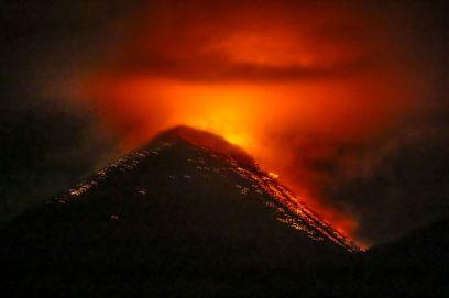 Ausbruch Vulkan Fuego