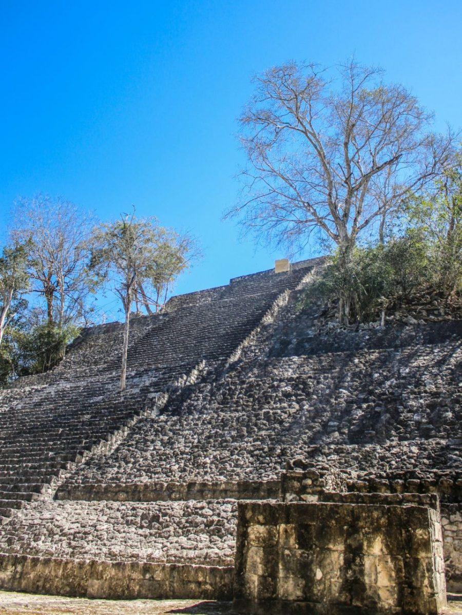 Calakmul Tempel
