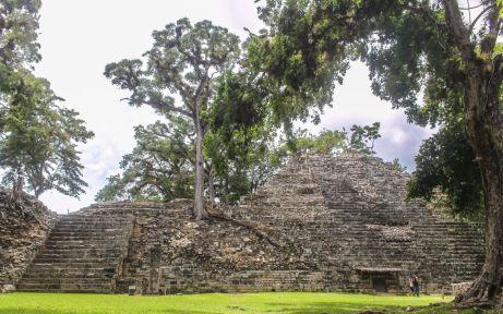 Ruine in Copan