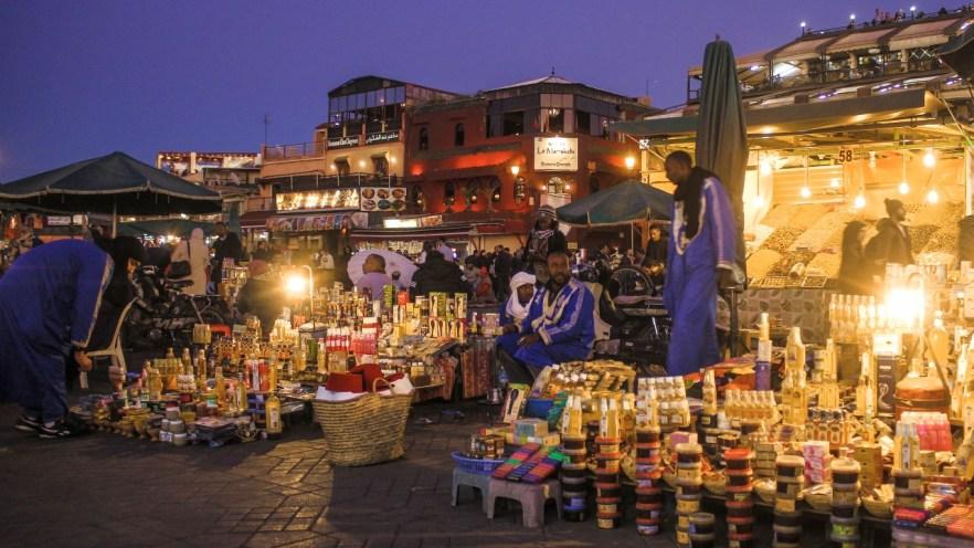 Djeema el Fna in Marrakesch