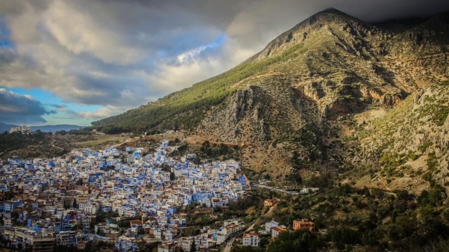 Panorama von Chefchaouen, Marokko © Danilo Rößger