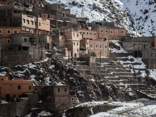 Das Dörfchen Aroumd in Marokko