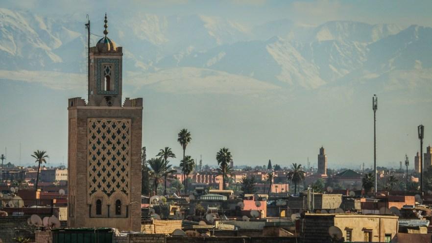 Marrakesch von oben.