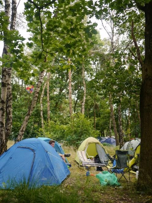 Campingplatz vom Best Kept Secret Festival 2018
