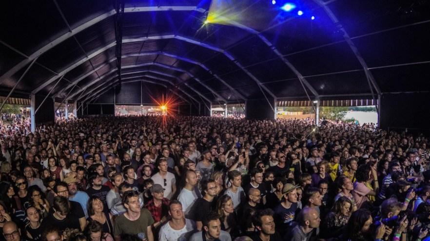 Stage Three auf dem Best Kept Secret Festival 2018