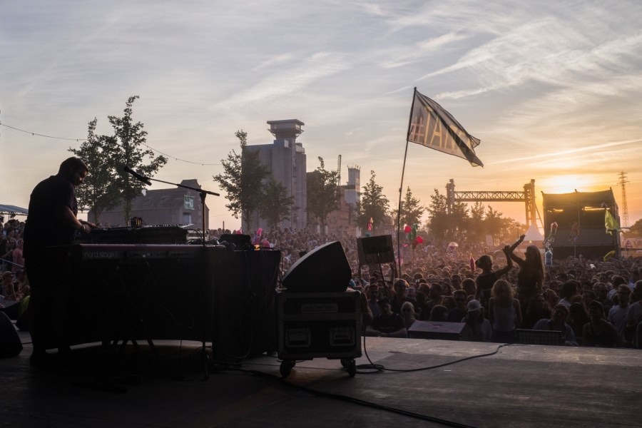 Erobique live auf dem MS Dockville Festival
