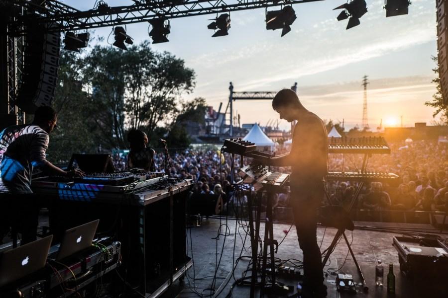 George Fitzegerald live auf dem MD Dockville Festival