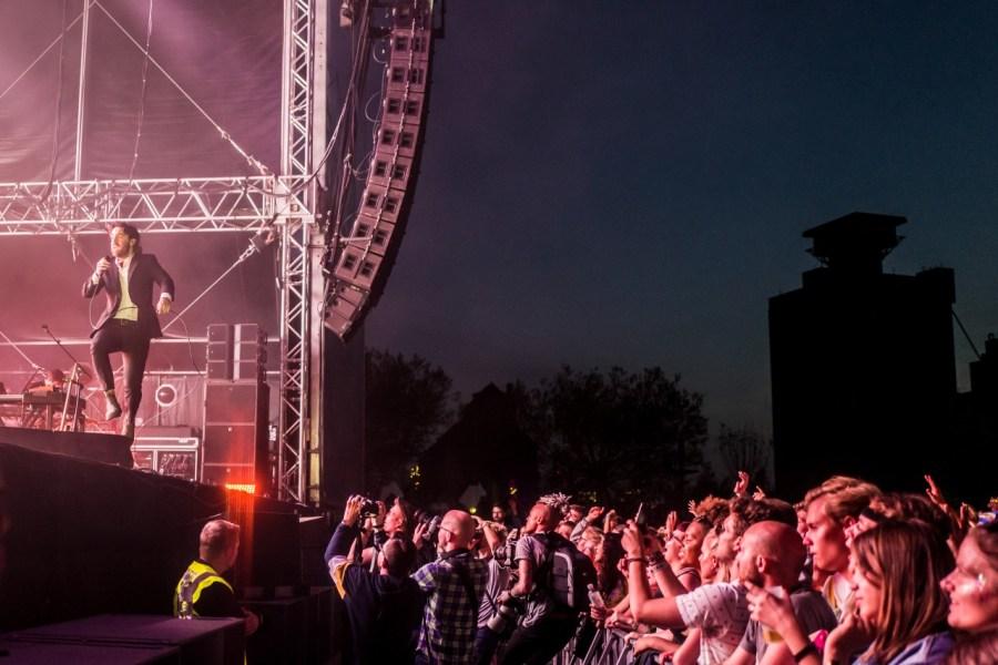 Nick Murphy fka Chet Faker live auf dem MS Dockville Festival