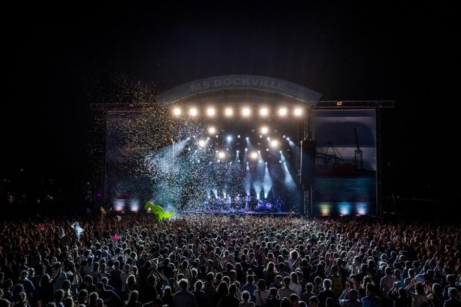 Olli Schulz live auf dem MS Dockville Festival