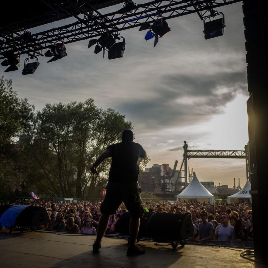 Waving the Guns live auf dem MS Dockville Festival