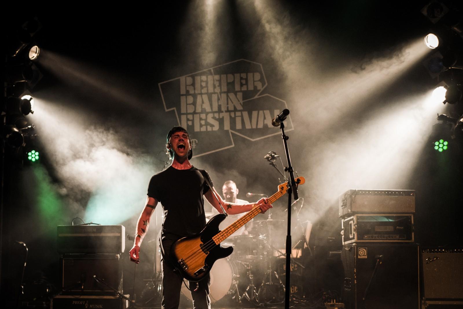 Vizediktator live auf dem Reeperbahn Festival 2018